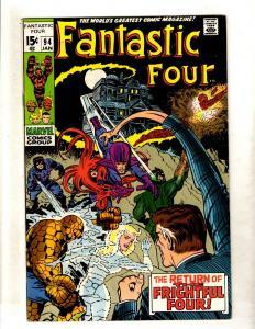 Fantastic Four # 94 NM- Marvel Comic Book Dr. Doom Human Torch Thing Hulk FM3
