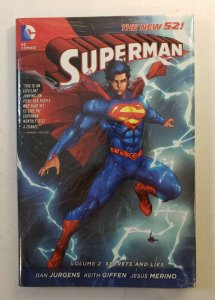SUPERMAN VOL.2 SECRETS AND LIES NEW 52 HARD COVER NEW SEALED