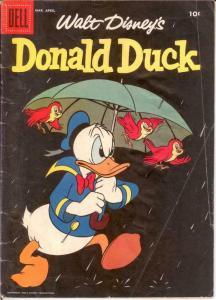 DONALD DUCK 58 GOOD Mar.-Apr. 1958 COMICS BOOK