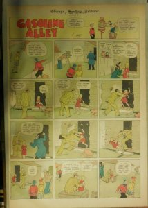 Gasoline Alley Sunday by Frank King from 1/21/1934 Full Page Size !