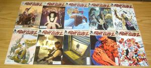 Chuck Palahniuk's Fight Club 2 #1-10 VF/NM complete series + poster + game +more