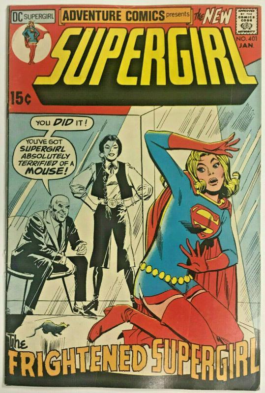 ADVENTURE COMICS#401 VG/FN 1971 SUPERGIRL DC BRONZE AGE COMICS