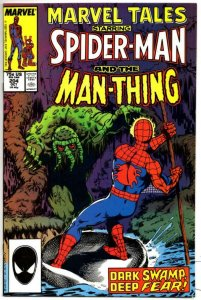MARVEL TALES #204, VF/NM, Spider-Man Man-Thing Byrne 1964 1987,  more in store