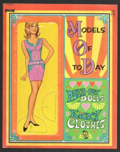 Models of The Day Paper Dolls #5122 1960's -Unused-Fashions-Size is about 10 ...