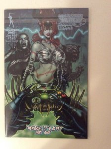 TAROT WITCH OF THE BLACK ROSE #96 CVR A DELUXE LITHO ED. W/SIGNED PRINT #156/500