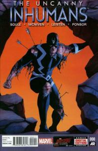Uncanny Inhumans #0 VF; Marvel | save on shipping - details inside
