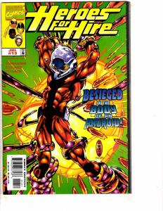 Heroes For Hire # 13 NM 1st Print Marvel Comic Book Ant-Man Luke Cage AH1