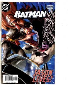 6 Batman DC Comic Books # 629 630 631 632 633 634 Joker Gotham Catwoman CR15