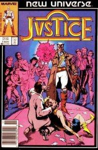 Justice (Marvel) #1 (Newsstand) FN; Marvel | save on shipping - details inside
