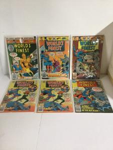 Worlds Finest 239-243 Lot Set Run Gd-Vg Good-Very Good 2.0-4.0