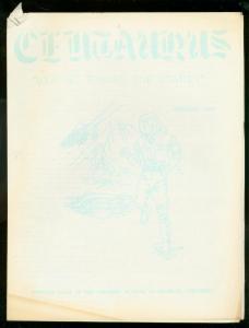 CENTAURUS-HORROR AND MONSTER MOVIE FANZINE #1-FEB 1963 VG-