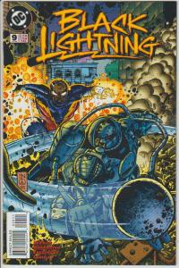 BLACK LIGHTNING #9 - 1995 - DC COMICS - BAGGED & BOARDED