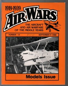 Air Wars #15 9/1988-Aircraft & air warfare of the middle years 1919-1939-model p