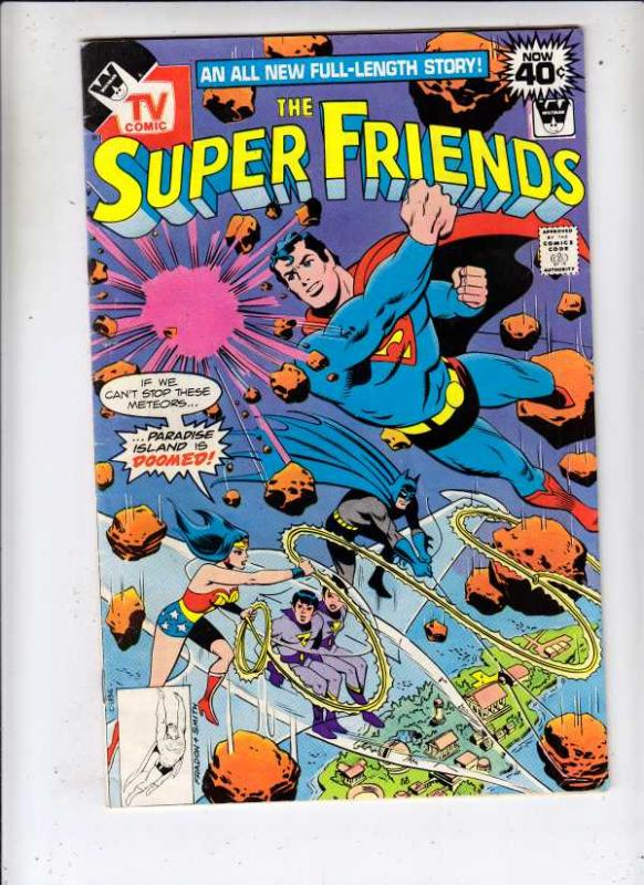 Super Friends, The #15 (Dec-78) FN Mid-Grade Superman, Wonder Woman, Batman, ...