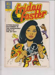 Friday Foster #1 FN- october 1972 - dell comics - afrocentric - black heroine