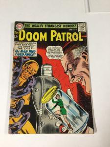 Doom Patrol 88 4.5 Vg+ Very Good + Dc Comics Silver Age Tape On Spine