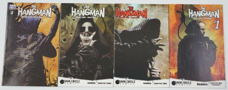 the Hangman #1-4 VF/NM complete series - tim bradstreet variants - dark circle
