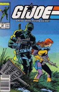 G.I. Joe, A Real American Hero #63 VF/NM; Marvel | save on shipping - details in