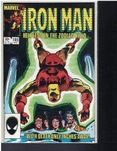 Iron Man #185 (Marvel, 1984)