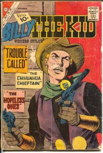 Billy The Kid #30 1961-Charlton-Masked Rider-Pete Morisi-10¢ cover price-G/VG