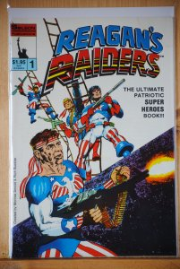 Reagans Raiders # 1, Rich Buckler, rare! Must have