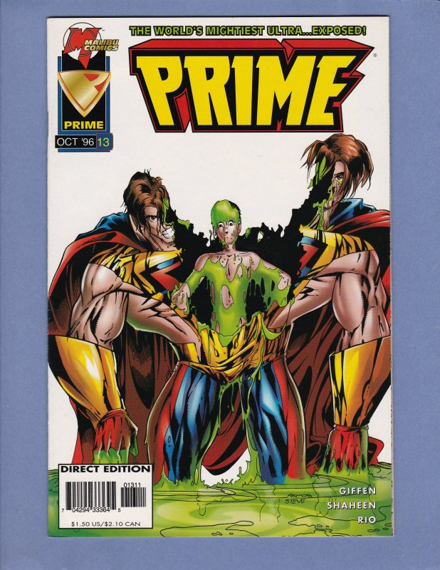 Prime Lot #Infinity #2 #3 #4 #7 #9 #11 #12 #13 Malibu Comics Spider-Man