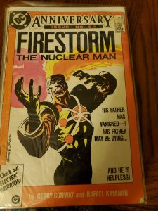 Firestorm the nuclear man #50 (1986)