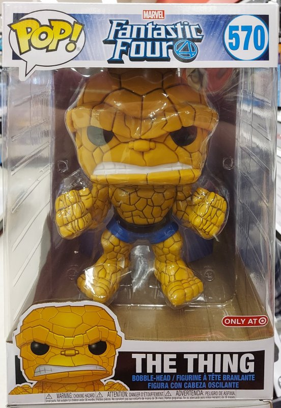 FUNKO POP Marvel Fantastic Four The Thing 570 Target Exclusive 10