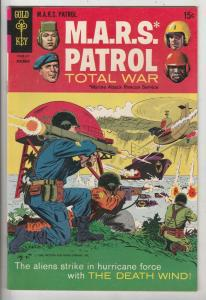 M.A.R.S. Patrol Total War #7 (Nov-68) VF/NM High-Grade M.A.R.S. (Sgt. Joe Str...