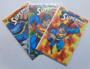 Superman Doomsday Hunter Prey (1994) #1-3 Set - 8.0 VF - 1994