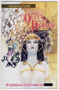 QUEEN of the DAMNED #1, NM+, Anne Rice, Vampire, 1991, more Horror in store