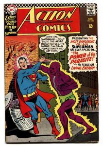 ACTION COMICS #340 comic book 1966-Superman 1st appearance of PARASITE