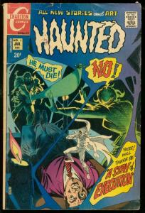 HAUNTED #3 1972-CHARLTON HORROR-EXECUTION COVER DITKO VG