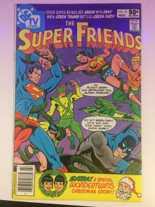 Super Friends #42 DC Comics TV Wonder Woman Batman Superman Green Fury 1981 NM