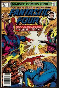Fantastic Four #212 (Nov 1979, Marvel) 7.5 VF-