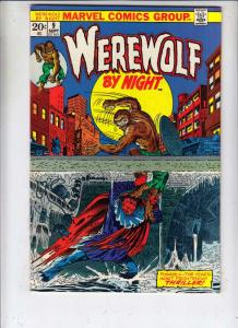 Werewolf by Night #9 (Sep-73) NM- High-Grade Werewolf