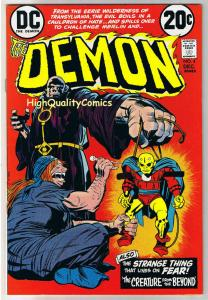 DEMON #4, VF+, Jack Kirby, 4th World, Creature, 1972, more JK in store