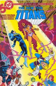 New Teen Titans (1984 series) #14, NM- (Stock photo)