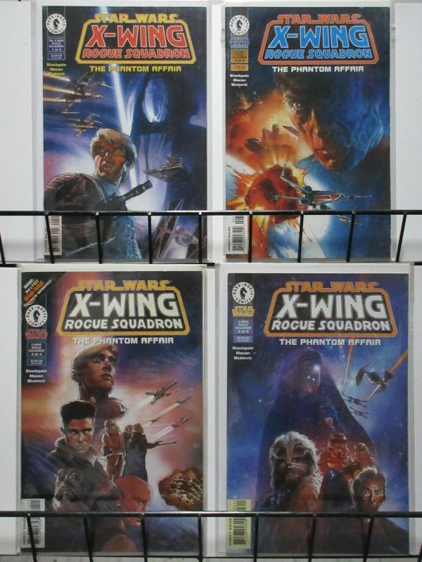 STAR WARS X WING ROGUE SQUADRON PHANTOM AFFAIR 1-4