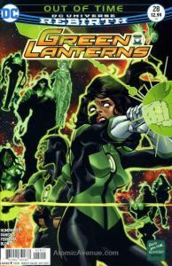 Green Lanterns #28 VF/NM; DC | save on shipping - details inside