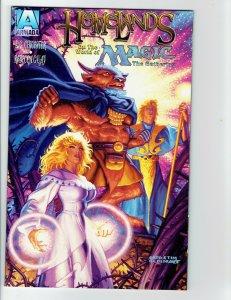 Acclaim 1996 HOMELANDS MtG Magic The Gathering #1 VF Comic book NO CARD