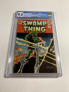 Swamp Thing 3 Cgc 9.2 Ow Pages Dc Comics Bronze 018