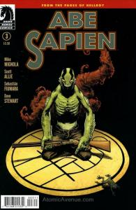 Abe Sapien: Dark and Terrible #3 FN; Dark Horse | save on shipping - details ins