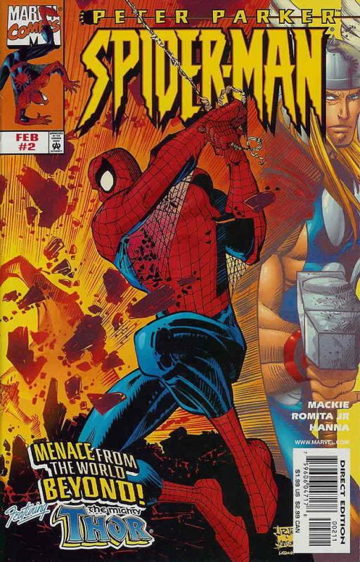Peter Parker: Spider-Man #2A VF/NM; Marvel | save on shipping - details inside