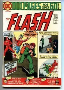 FLASH #229 1974comic book  DC COMICS-golden age flash 100 page giant
