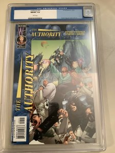 The Authority #25 CGC 9.8 (1999-2002) Wildstorm