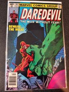 DAREDEVIL #163 Hulk Appearance Frank Miller Art