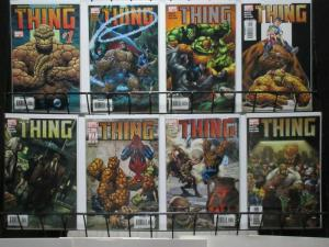 THING (2006) 1-8  complete mini-series Slott/ Divito