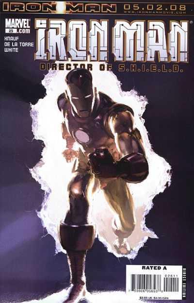 Iron Man (2005 series) #25, NM (Stock photo)