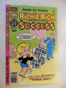 RICHIE RICH SUCCESS # 94 HARVEY CARTOON ADVENTURE FUNNY